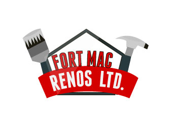Fort Mcmurray Renovations Logo design and website