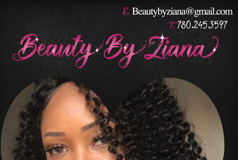 Beauty By Ziana flyer design