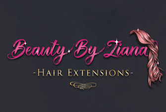 Beauty By Ziana logo design